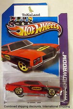 Hot Wheels 2014 249/250 Workshop Red '70 Buick GSX