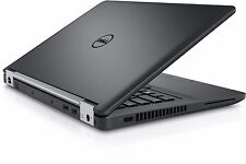 Dell Latitude 14 e5470 5000 core i7-6600U 4GB 500GB HDD HD 768p R7 M360 W10PRO
