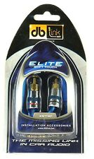 LINK DB EST3Z Elite Soft Touch RCA Stereo Audio Cable (3 ft)
