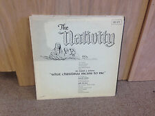 Bill McVey The NATIVITY What Christmas Means to Me vinyl LP NM David Ross