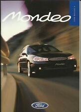 Ford Mondeo Completo folleto de ventas de octubre de 1998 para el año 1999 Modelo