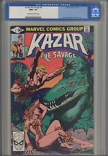 Ka-Zar, the Savage #4 CGC 9.6  1981  Marvel  Comic: Brent Anderson Kazar Cover
