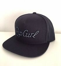 NEW RIP CURL SURF SANDSPIT SNAPBACK NAVY COTTON CAP HAT 1SZ BALL CAP ZY364
