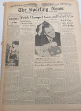 The Sporting News Newspaper  Dolph Camilli  August 12, 1943    101014lm-eB3