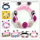HOT Crystal Lovely Childen kids Baby Shamballa Bracelet Jewellery Xmas Gift