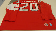 Team Canada 2014 Sochi Winter Olympics Hockey Jersey S Red John Tavares