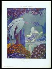 UMBERTO BRUNELLESCHI, THE WHITE TOWER - 1915 PHOTOLITHOGRAPH -