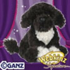 WEBKINZ Signature Portuguese Water Dog WKS1023 NEW with attached Unused Code