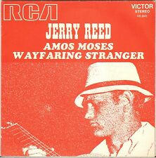 """JERRY REED """"AMOS MOSES"""" COUNTRY ROCK 60'S SP PROMO RCA 45.641"""