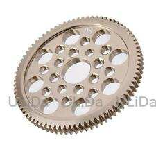 Metal 48P Spur Gear 80T Teeth 7075 For 3Racing Sakura D3 CS S XI XIS 1:10 RC Car