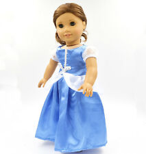 2016  Handmade fashion clothes dress for 18inch American girl doll party b87