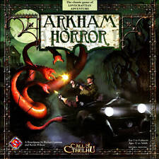 ARKHAM HORROR BOARD GAME FANTASY FLIGHT GAMES CALL OF CTHULHU