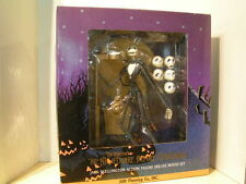 Jun Planning Nightmare Before Christmas Jack Skellington Deluxe Boxed Set-MIOB!
