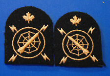 CANADA Armed Forces Canadian Navy Naval Electronic Technician Trade badges