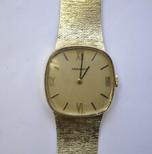 Stunning Vintage Men's 14k Solid Gold Movado 17 Jewel Zenith Movement 55g Watch