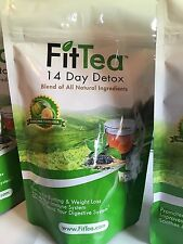 FIT TEA 14 Day Tea Detox - PROMOTES FAT BURNING -ALL NATURAL-NEW & FRESH SEE PIC