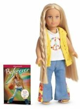 Julie Albright American Girl Mini Doll Beforever  & Mini Book 2014 Brand New