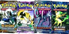 ① 4 BOOSTERS de CARTES POKEMON Neuf Aucun double en FRANCAIS (Lot N° AAT)