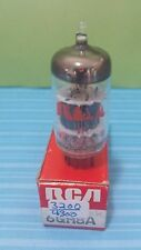 1 RCA 6GH8A  Vacuum Tube Tested New On Calibrated Hickok