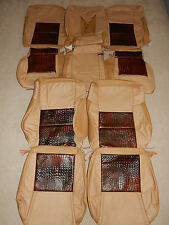 2006-2007 Jeep Commander Factory leather seat covers (3row)