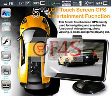 "5""HD GPS NAVIGATION+WIRELESS REVERSE CAMERA +8G HD AV-IN BLUETOOTH DDR128MB"