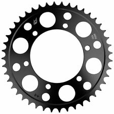 Driven Racing Steel Rear Sprocket - 47T, Color: Black, Material: 8820-520-47T