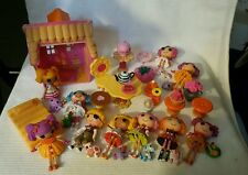 10 Mini Lalaloopsy With Accessories