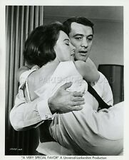 ROCK HUDSON LESLIE CARON A VERY SPECIAL FAVOR 1965 VINTAGE PHOTO ORIGINAL #4