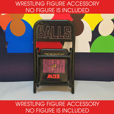ECW ELITE FIGURE CHAIR ACCESSORY - ECW NOVEMBER TO REMEMBER BALLS MAHONEY