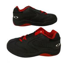 brand NEW leather SOURDOUGH OAKLEY  Black/Red trainers size UK 5,EUR 38.5