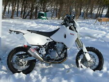 Suzuki DRZ400 S DRZ400S Safari 17L Long Range Fuel Tank Petrol Gas White