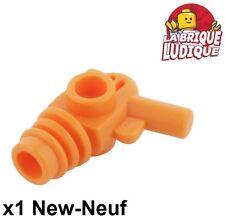 Lego - 1x minifig arme weapon ray gun pistol pistolet blaster orange 87993 NEUF