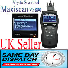 Vgate VS890 Maxiscan OBD2 CAN BUS Fault Code Diagnostic Reader Scanner tool UK