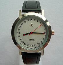 Mercedes Benz Collection 24 Hours Military Dial Swiss movt Made in Germany Watch