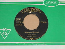 "PAUL EVANS -Happy Go Lucky Me / Midnire Special- 7"" 45  german London"
