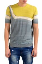 Malo Men's Crewneck Short Sleeve Knitted Casual Shirt US L IT 52