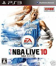 Used PS3 NBA Live 10 SONY PLAYSTATION 3 JAPAN JAPANESE IMPORT