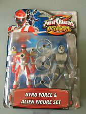 Power rangers Operation overdrive Gyro force & alien twin pacck NEW SEALED