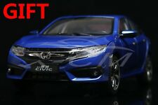 Car Model Honda Civic 10th Generation 1:18 (Blue) + SMALL GIFT!!!!!!!!!!!!!