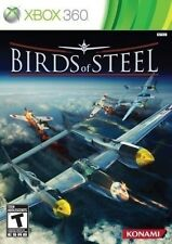 XBOX 360 SHOOTER GAME BIRDS OF STEEL BRAND NEW & FACTORY SEALED