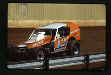 1983 Speed Boys Auto Parts #12 - Dirt Track Race - Original 35mm Racing Slide