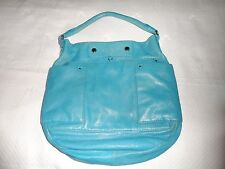 Marc by Marc Jacobs Preppy Leather Hillier Hobo Bag Aquamarine Blue