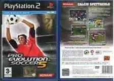 GIOCO PLAY STATION  2 - PRO EVOLUTION SOCCER 5  - USATO BEN TENUTO