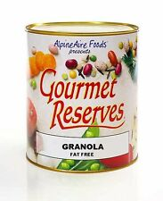 ALPINE AIRE GOURMET RESERVES  FOOD DEHYDRATED GRANOLA FAT FREE
