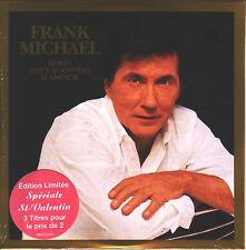 ★☆★ CD Single Frank MICHAEL Apres tant d'années d'amour Edition limitée NEUF ★☆★