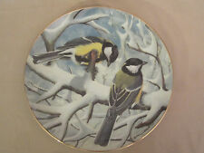 GREAT TITMOUSE collector plate BASIL EDE Garden Birds of the World WILDLIFE