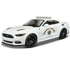 Maisto 1:24 2015 Ford Mustang GT Diecast Metal Model Police Car Vehicle new