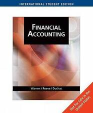 Financial Accounting: An Integrated Statements Approach, Reeve, James M., Warren