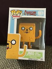 FUNKO POP TELEVISION ADVENTURE TIME JMO JAKE AS BMO #187 TARGET EXCLUSIVE R2S NS