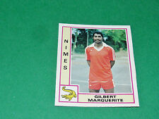 N°251 GILBERT MARGUERITE NIMES OLYMPIQUE CROCOS PANINI FOOTBALL 80 1979-1980